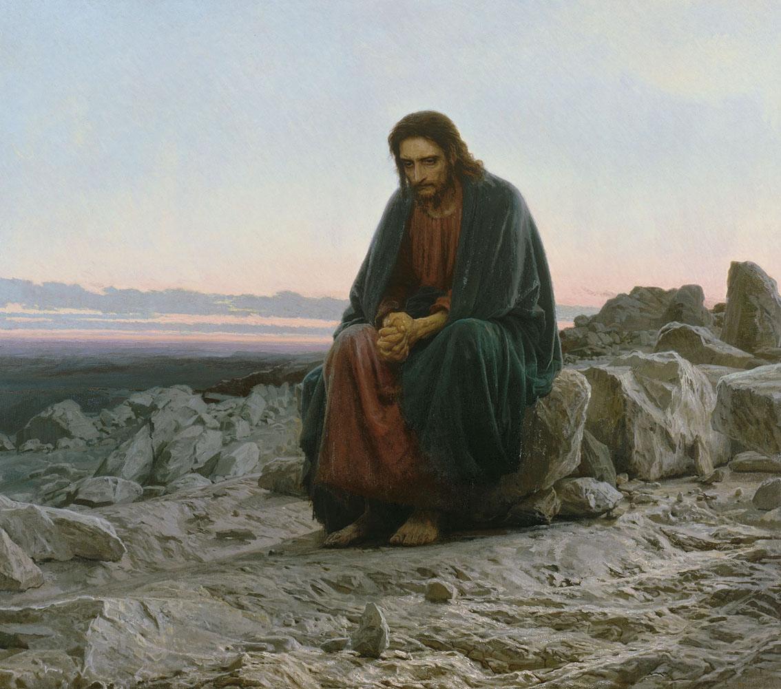 Kramskoi_Christ_dans_le_désert